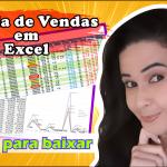 Tabela de Vendas em Excel | Instrução de Uso | Download Grátis