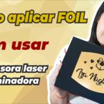Como aplicar FOIL sem impressora laser nem laminadora