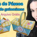 Presente de Páscoa: como fazer uma cesta de chocolates | Arquivos Grátis