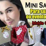 Como fazer mini sacola / bolsa personalizada | DIY
